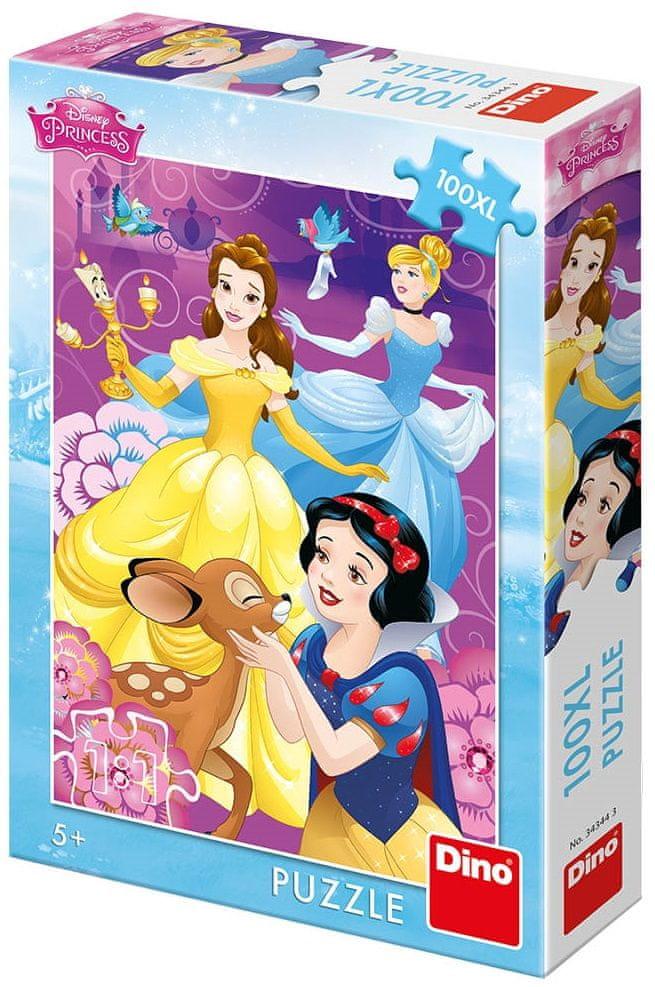 Dino Disney princezny u vody 100XL dílků