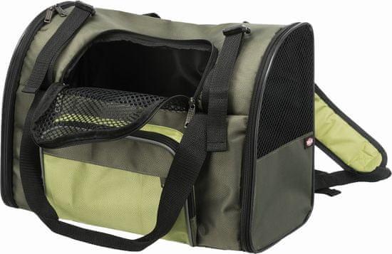 Trixie Transportní batoh/taška SHIVA 41x30x21 cm, zelená