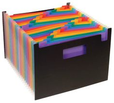 """VIQUEL Desky s přihrádkami """"Rainbow Class"""", černá, 25 částí, PP"""
