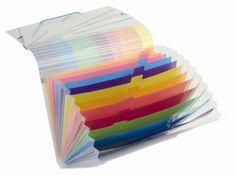 """VIQUEL Desky s přihrádkami """"Propystick"""", transparentní modrá, 12 přihrádek, PP"""