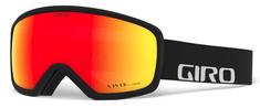 Giro gogle narciarskie Ringo, czarne, czerwone soczewki
