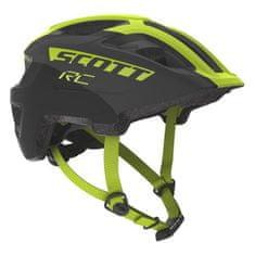 Scott Spunto Jr Plus kolesarska čelada, otroška, črno-rumena