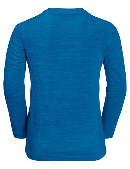 Jack Wolfskin chlapčenské funkčné tričko SKIING WOLF LONGSLEEVE KIDS 1608831-1361