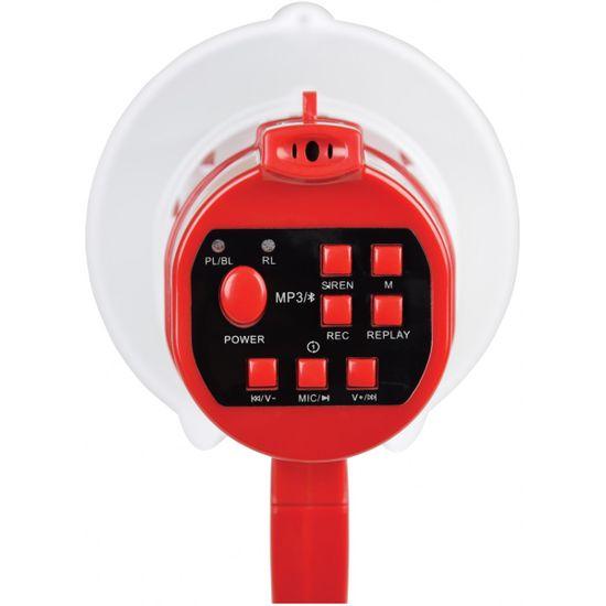 Adastra L15RBT, megafon, 15W, USB/SD/BT