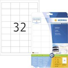 Herma Superprint 4200 etikete, A4, 48,3 x 33,8 mm, bele, 25 kom