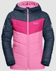 Jack Wolfskin dekliška bunda Three Hills Jacket Kids 1608631-2098, 164, roza