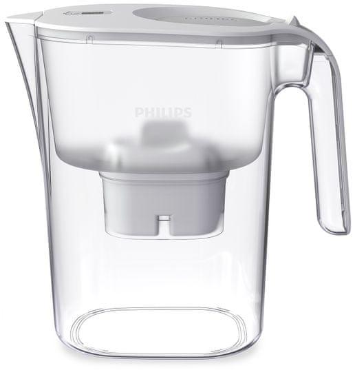 Philips AWP2936WHT/10 vrč za filtriranje vode, bel, 3 l