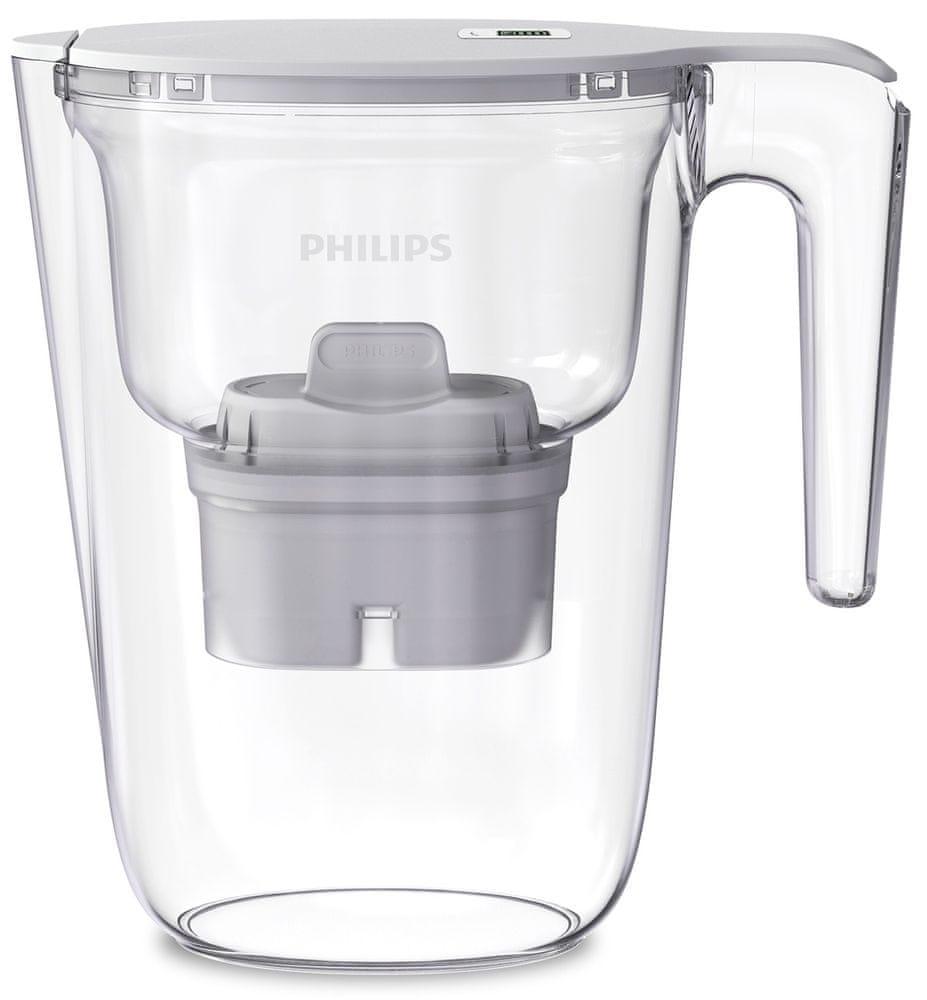 Philips filtrační konvice AWP2935WHT/10, bílá, 2,6l