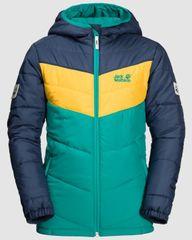 Jack Wolfskin otroška jakna Three Hills Jacket KIDS 1608631-4094, 164, turkizna