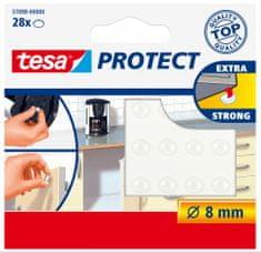 Tesa Ochranné, samolepiace, protihlukové/protišmykové podložky tesa® - priesvitné, zabraňujú kĺzaniu, znižujú intenzitu hluku