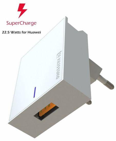 SWISSTEN Zasilacz do Huawei Super Fast Charge 22,5 W, biały 22049800