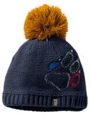 Jack Wolfskin otroška kapa Paw Knit Cap Kids 1906591-1033, M, temno modra