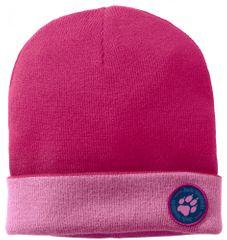 Jack Wolfskin dekliška kapa Paw Rib Hat Kids 1907321-20100, S, roza