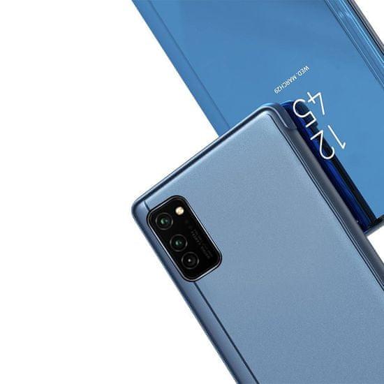 MG Clear View knjižni ovitek za Samsung Galaxy A32 4G, roza