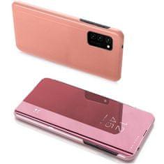 MG Clear View usnjeni ovitek za Xiaomi Redmi 9A, roza