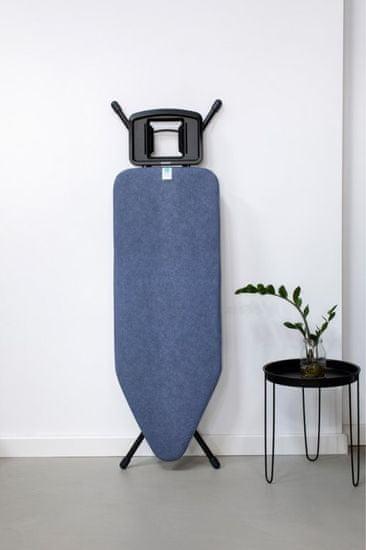 Brabantia deska do prasowania 124×45 cm, Denim Blue