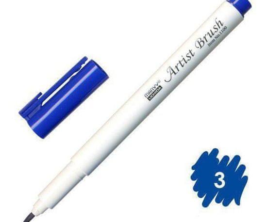 Marvy Popisovač 1100 artist brush blue, marvy, inkoustové