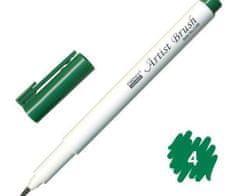 Marvy Popisovač 1100 artist brush green,