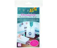 Kraftika Adventní kalendář - set- dárkové papírové tašky - bílé