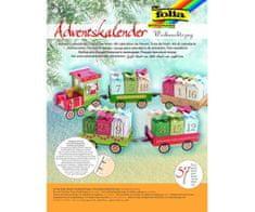Kraftika Adventní kalendář - vánoční vláček,