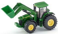 SIKU Farmer 1982 John Deere traktor homlokrakodóval 1:50