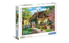 Clementoni puzzle 1000 HQC, The Old Cottage (39520)