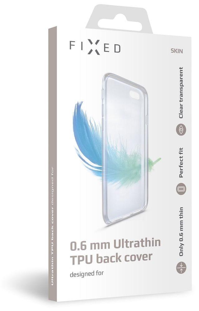 FIXED Ultratenké TPU gelové pouzdro Skin pro Realme 6i/C3/5, 0,6 mm, čiré FIXTCS-544