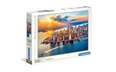 Clementoni puzzle 500 HQC, New York (35038)