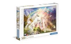 Clementoni puzzle 500 HQC, Sunset Unicorns (35054)