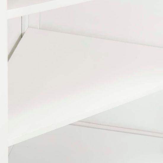 shumee Kotna omarica 59x36x180 cm trdna hrastovina