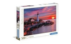Clementoni puzzle 500 HQC, Portland Head Light (35049)