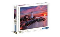 Clementoni puzzle 500 HQC, Portland Head Light (35049)