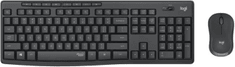Logitech MK295 Silent Wireless Combo, graphite, US (920-009800)