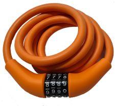 Carol Cycle ključavnica 12 x 1500 mm, mehka, na številke, nastavljiva kombinacija, oranžna
