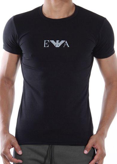 Emporio Armani Pánské tričko 111267 CC715 černá