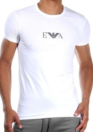 Emporio Armani Pánské tričko 111267 CC715 bílá 2 kusy