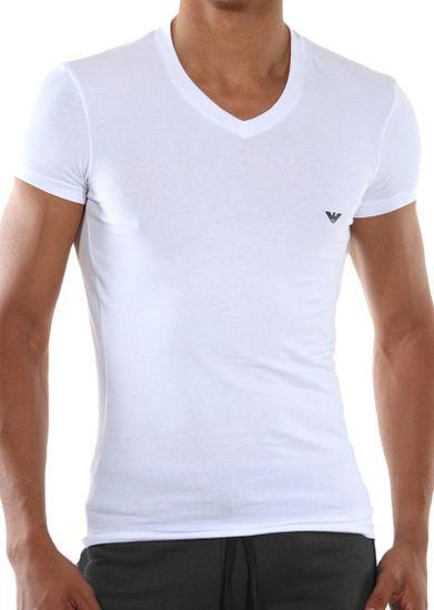 Emporio Armani Pánské tričko Emporio Armani 110810 CC729 bílá
