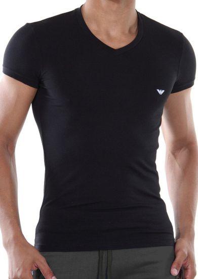 Emporio Armani Pánské tričko Emporio Armani 110810 CC729 černá