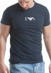 Emporio Armani Pánské tričko 111267 CC715, Tm. modrá, L
