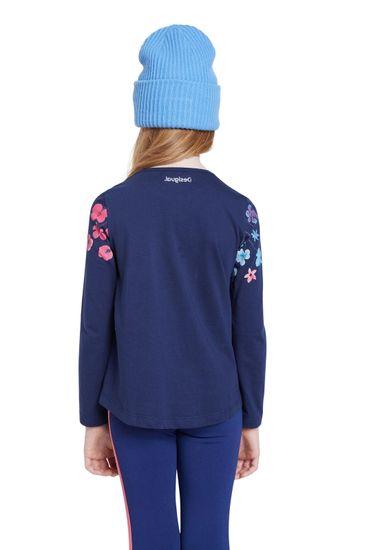 Desigual modra dekleta majica TS Texcoco - 7/8