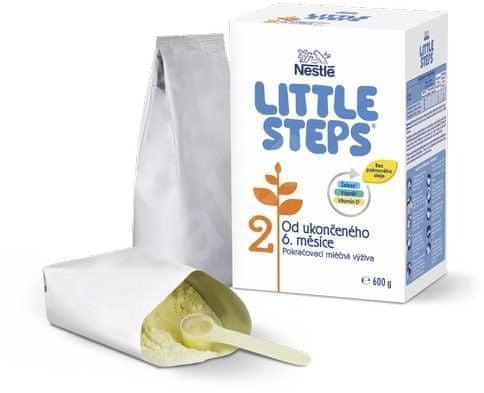 Nestlé LITTLE STEPS 2 pokračovacie dojčenské mlieko 6x600 g
