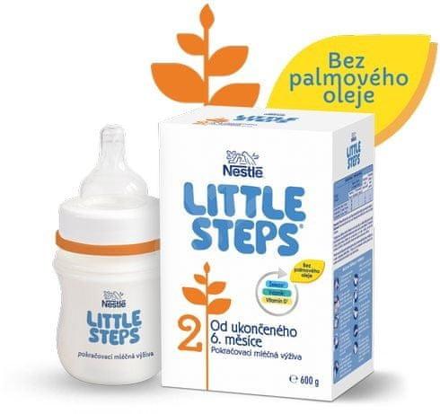 Nestlé LITTLE STEPS 2 pokračovací kojenecké mléko 6x600 g