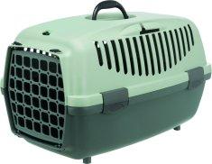 Trixie Be Eco Capri 1 transportna škatla, XS 32x31x48cm, siva/zelena