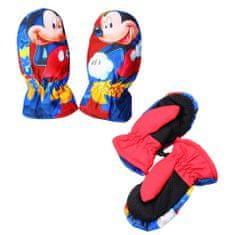 "SETINO Fantovske rokavice ""Mickey Mouse"" - rdeča - 5–6 let"