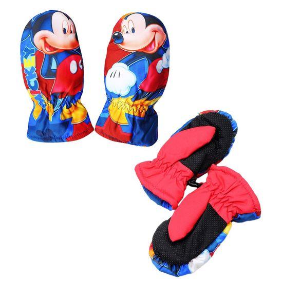 "SETINO Fantovske rokavice ""Mickey Mouse"" - rdeča"
