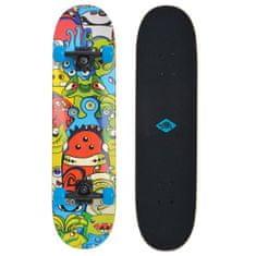 """Schildkröt skateboard Slider 31"""" - Monsters"""