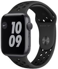 Apple Watch Nike Series 6, 44mm Space Gray Aluminium Case with Anthracite/Black Sport Band (MG173HC/A)