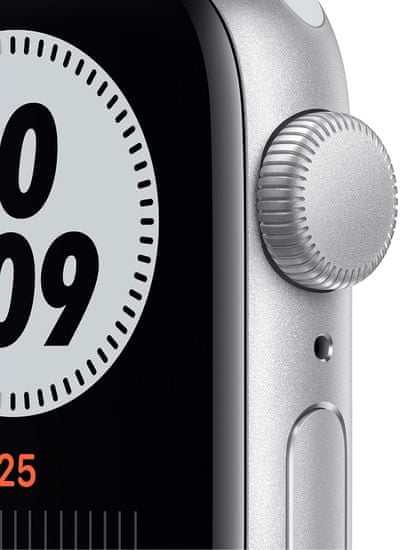 Apple Watch Nike SE , 40mm Silver Aluminium Case with Pure Platinum/Black Nike Sport Band (MYYD2HC/A)