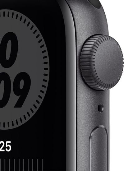 Apple Watch Nike SE, 40mm Space Gray Aluminium Case with Anthracite/Black Nike Sport Band (MYYF2HC/A)
