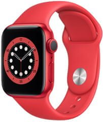Apple Watch Series 6, 40 mm PRODUCT(RED) Aluminium Case with PRODUCT(RED) Sport Band (M00A3HC/A)
